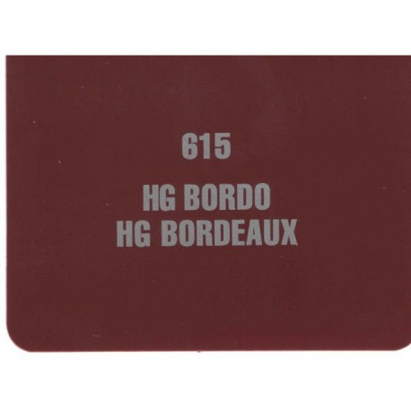 Mdf pg18mm bordeaux 615