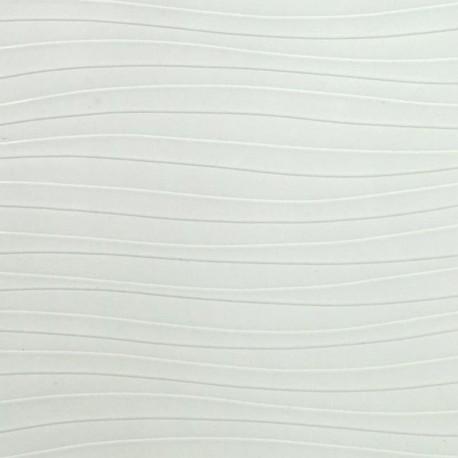 Mdf pg18mm wavy white 664